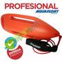 Torpedo Rescate Profesional Aquafloat Tipo Baywach Nadadores