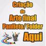Criar Arte Final, Panfleto, Flyer, Folder 4x4 Criação Banner