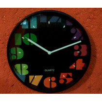 Reloj De Pared Retro