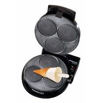 Maquina Para Hacer Conos Barquillos Helado Waffles Wafle