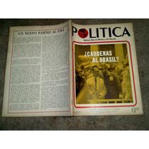 Revista Politica # 69 Fidel Castro Y Cardenas