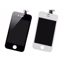 Pantalla Iphone 4 Touch + Digitalizador Blanco Y Negro +kit