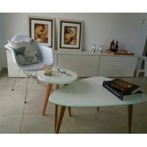 Combo Mesas Nordicas Escandinavas Living Kipe Design