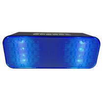 Bocina Pulse Iluminacion Led Recargable Bluetooth Fm Sd 247