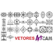 Artcam Kit1 De Vetores 2d Artesanato Mdf Cnc Router E Laser