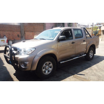 Vendo Camioneta Toyota Hilux 4x4