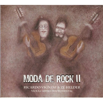 Cd Moda De Rock I I - Viola Caipira Instrumental - Novo***
