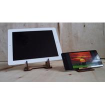 Soporte Universal Para Tableta Y Teléfono Juego Madera Mdf