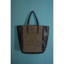 Cartera Bolso Zara Animal Print