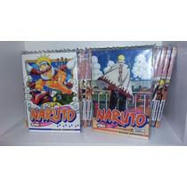 Mangás Naruto Vol. 1 Ao 72 Coleção Completa!