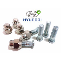 Cj. Parafuso+porca Roda Hyundai I30 (dianteiro),.(5 De Cada)