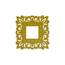Marco Amarillo Cuadrado Decoracion Interiores Valchromat8mm