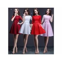 Vestidos A La Moda, Casuales De Fiesta Cortos Colores Bellos