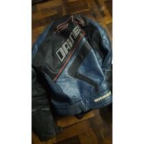 Macacão Couro Moto Motociclista Dainese Gtr