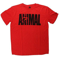 Red Universal Nutrition Animal El Icónico De La Camiseta L