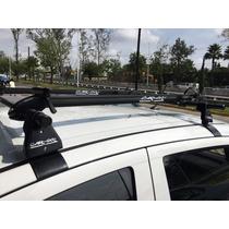 Barras Porta Bicicletas De Acero Tubular Car-go