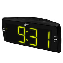 Rádio Relógio Lenoxx C/ Rádio Am/fm, Despertador Rr736