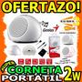 Wow Mini Corneta Genius Spi170 Portatil Negro Recargable 2w