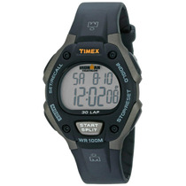Timex Hombre T5e901 Ironman Reloj With Negro Resin Band
