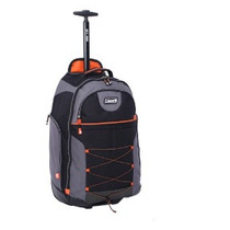 Mochila Coleman Rolling Backpack Nuevecita Impecable Negra