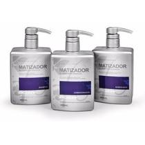 Dicolore Matizador Blonde Shampoo+cond+acidificante+brinde