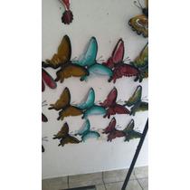 Mariposa Libelula Decorativa De Pared