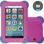 Tablet P/ Criança Menina - Camera Frontal - Case De Silicone