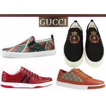Tenis Gucci Entrega Dia Siguiente Y Meses S/i