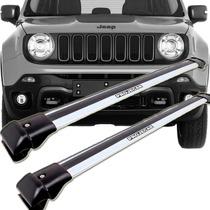 Travessa Rack Longarina Jeep Renegade - Prata