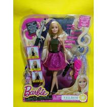 Barbie Tenaza Magica Rizos A La Moda Sin Calor Nueva