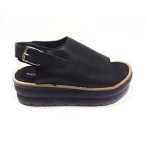 Zapato Mujer Sandalia Gomon Moda Eco Cuero Re Comoda Thomasa