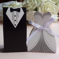 50 Caixinha Para Doces Noivinhos Lembrancinha De Casamento