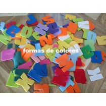 Letras En Goma Eva (fina) X108