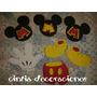 Mickey Y Sus Amigos Figuras En Goma Eva $80, Para Tu Fiesta