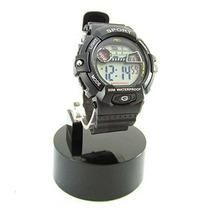 Lcd Para Hombre Relojes Montres Carlo Digital Multifunción E