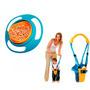 Tazón Plato Para Bebés + Arnes Para Bebe Moon Walk