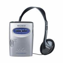 Radio Sony Srf-59+fone Am Fm Sil Cart(5)