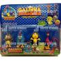 Galinha Pintadinha Miniatura Kit Com 4 Bonecos