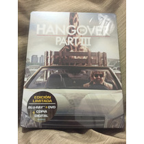 Hangover 3 Que Pasó Ayer? 3 Bluray/dvd Steelbook