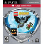 Lego Batman Ps3 C/ Película Batman Tim Burton Bonus Nuevos