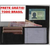 Atacado 20 Peças Mini Carteira De Couro Porta Cartões E Cnh