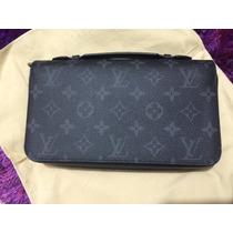 Louis Vuitton Zippy Wallet Xl Edición Limitada Única Nueva
