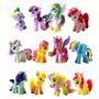 My Little Pony 12 Minifiguras Para Torta De Cumpleaños