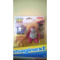 Imaginext Toy Story 3 Coisa, Sparky E Lotso Mattel Fischer