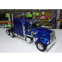 1:32 Kenworth W900 Aerocab Azul Cabina Canadiense New Ray