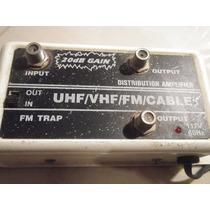 Amplificador De Señal Tv, Cable, 2 Salidas