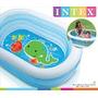 Pileta Inflable Ovalada Intex Bebes Niños