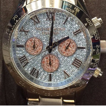 Relógio Mk5830 Michael Kors Rosê Frete Gratis Parcele 12x A