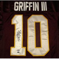 Jersey Autografiado Robert Griffin 3 Washington Redskins Nfl