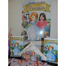 Cartel Bienvenida Poster Personalizado Princesa Sofia